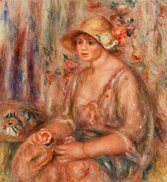 Frau im Musselin-Kleid, Renoir (1917)