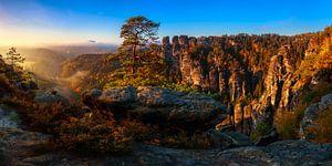 Blick in die Sächsische Schweiz