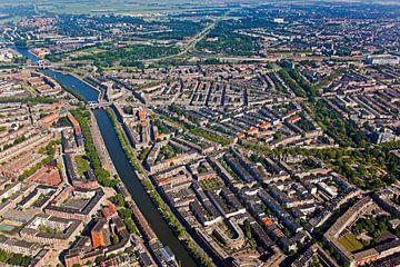 Luchtfoto Nieuwe Westen te Rotterdam