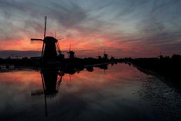 Zonsondergang von Jeffrey Van Zandbeek