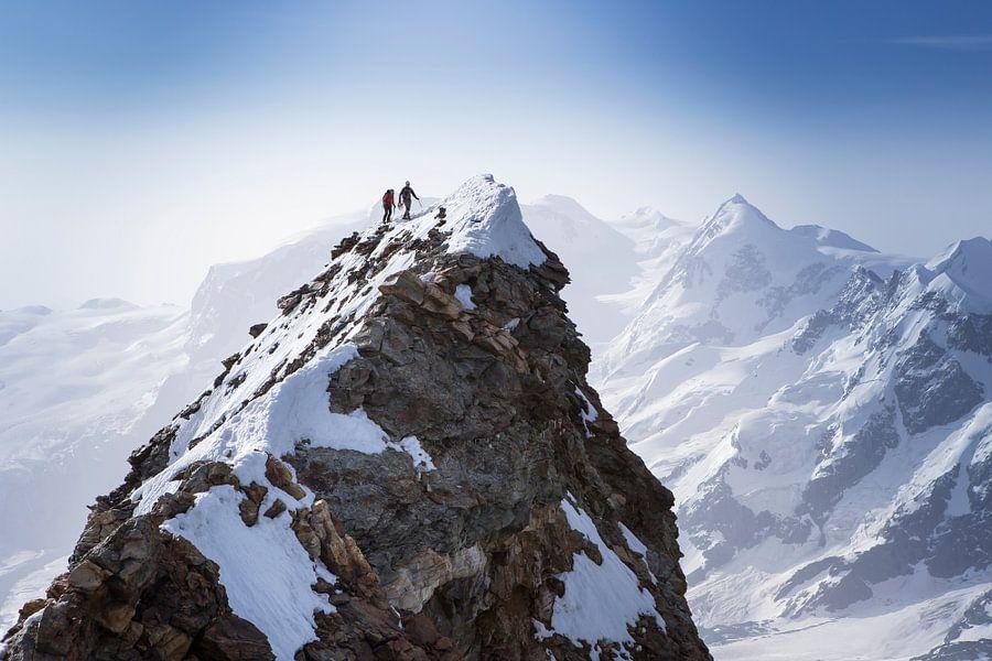 Top van de Matterhorn van Menno Boermans