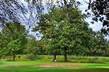 Golfbaan 4 van Edgar Schermaul
