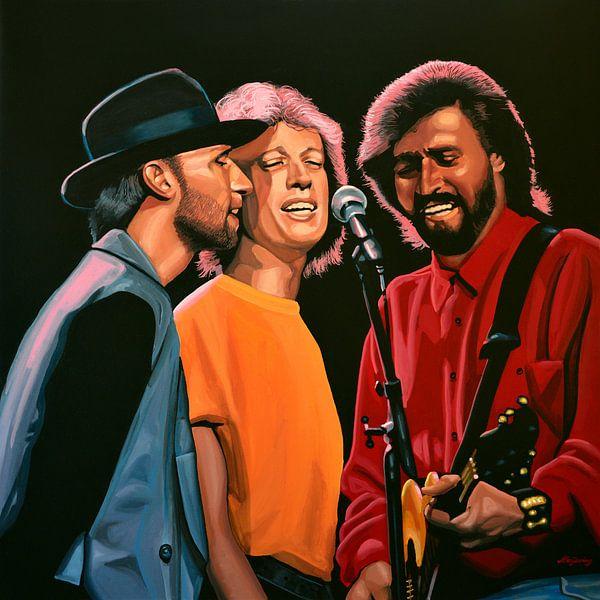 The Bee Gees Schilderij van Paul Meijering