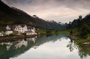 Rustiek Noorwegen