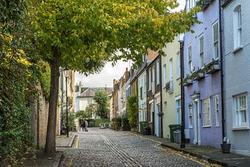 Les rues romantiques de Notting Hill sur Reis Genie
