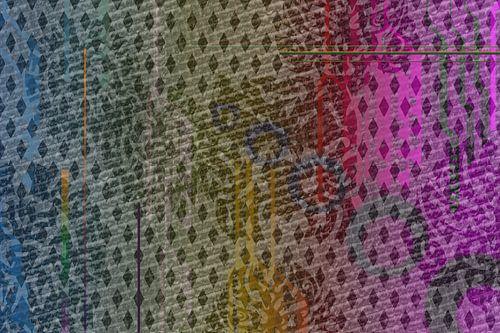 Grafisch patroon met vectoren
