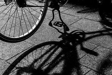 Im Schatten des Fahrradunterstand von Nannie van der Wal