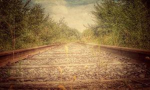 Spoorweg urbex van