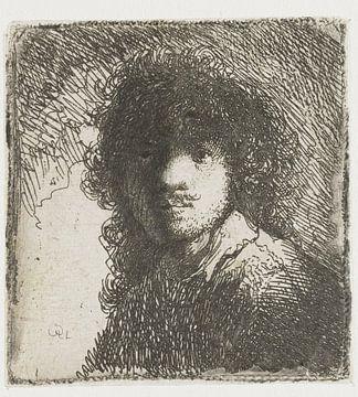 Autoportrait, tête nue : buste, Rembrandt van Rijn