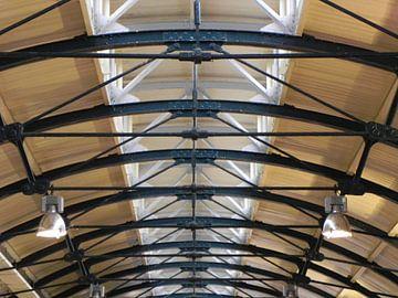 Trainstation ceiling in Leeuwarden van Sanneke van den Berg