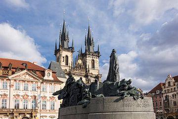 Blick auf Prag  von Rico Ködder