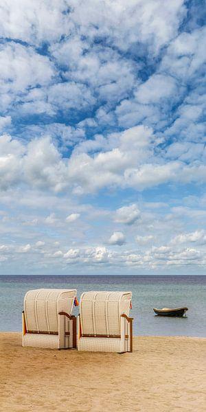 SIERKSDORF een Idyllisch uitzicht van de Ostseeee van Melanie Viola
