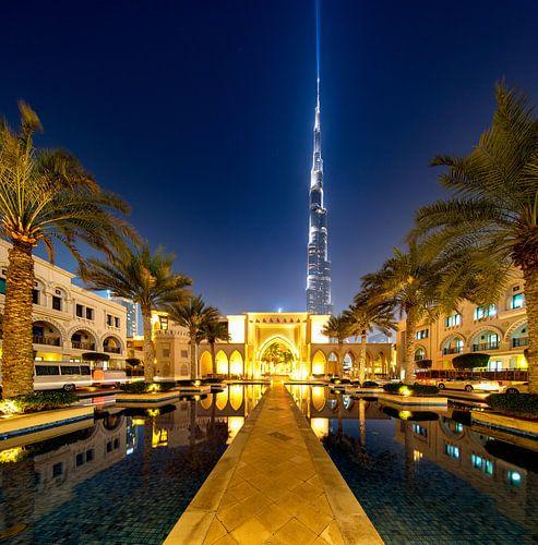 Naar Burj Khalifa van