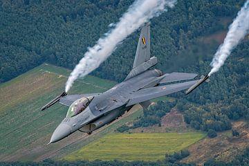 F-16AM Belgian Air Force. Air to air. van Patrick Vercauteren