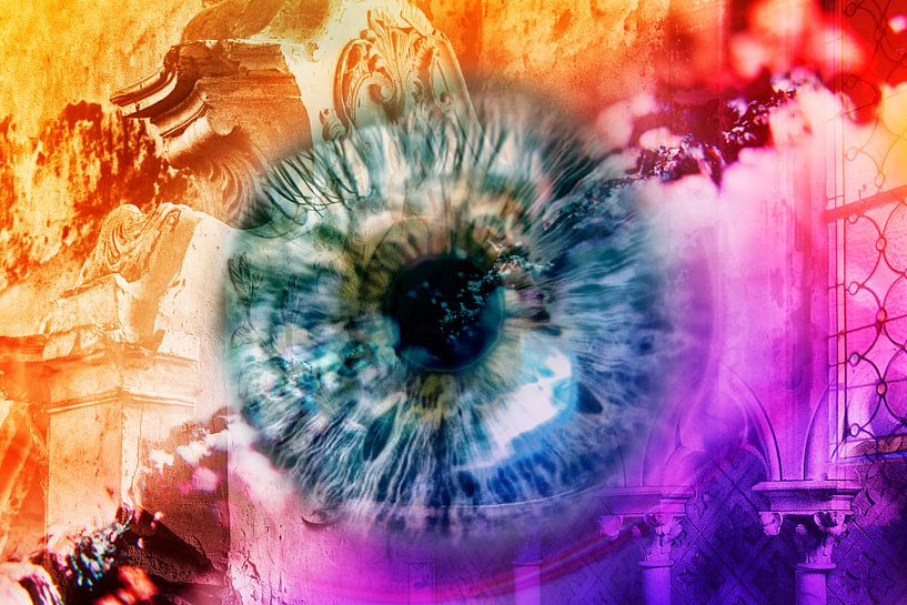 Eye witness (ooggetuige) van 2BHAPPY4EVER.com photography & digital art