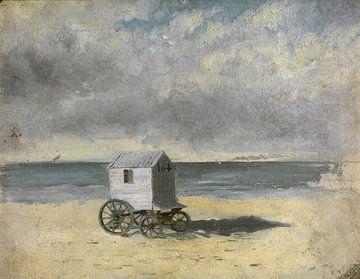 James Ensor. Badkoest op het strand