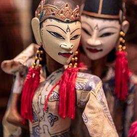 Wajang poppen gemaakt op Java van Jeroen Langeveld, MrLangeveldPhoto