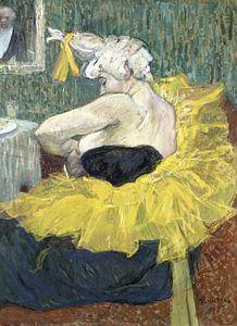 Weiblicher Clown, Henri de Toulouse-Lautrec - 1895