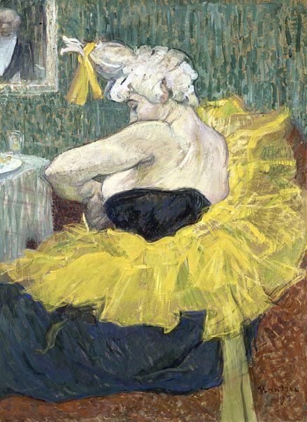 Weiblicher Clown, Henri de Toulouse-Lautrec - 1895 von Het Archief