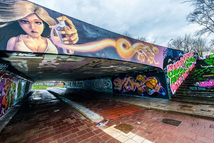 Graffiti,Streetart. von Brian Morgan