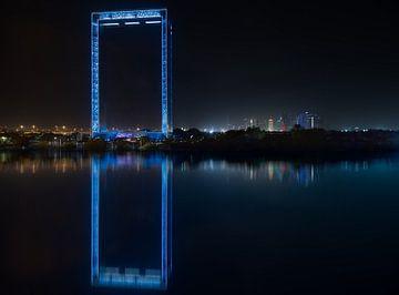 Dubai Frame impression sur Rene Siebring