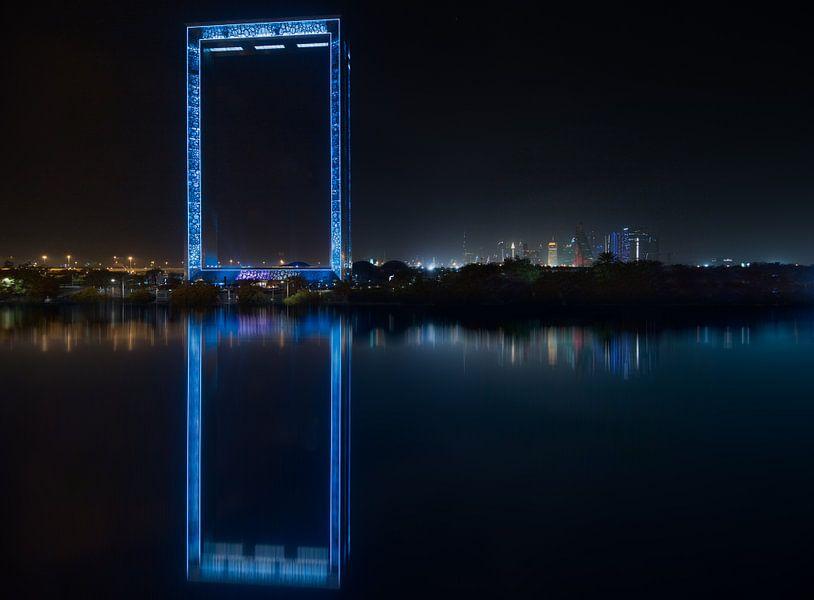 Dubai Frame impressie van Rene Siebring