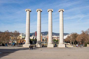 Plaça de Josep Puig i Cadafalch van thomas van der Wijngaard