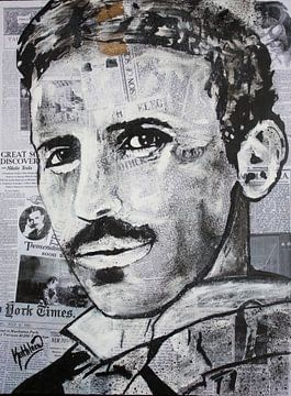 Nikola TESLA Genie von Kathleen Artist Fine Art