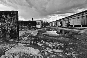 Verlaten Oost-Duitse koemelkfabriek van Silva Wischeropp