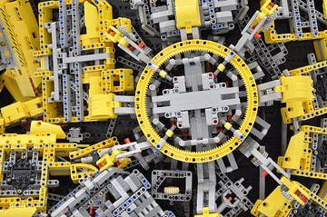 Big Lego Close Up van Maurits Eykman