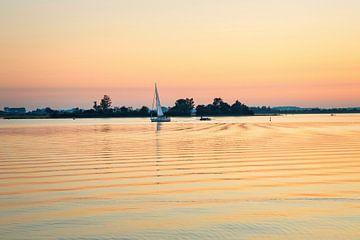 Segelschiff auf dem Veere-See von Rob Boon