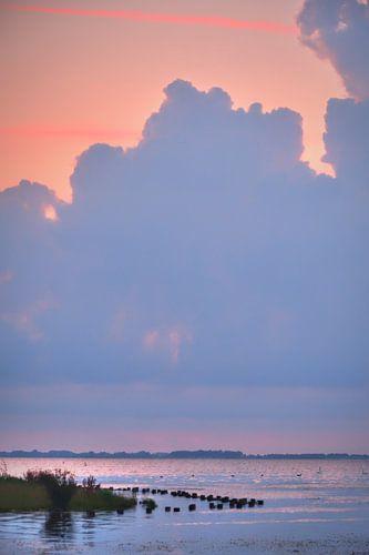 Zonsondergang Eemmeer bij Spakenburg