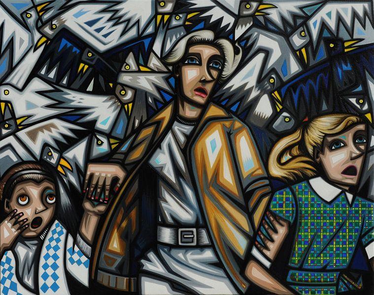 Birds van Bénédicte Vandewattyne
