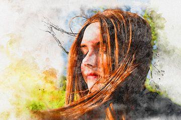 Voel de wind van Claudia Evans