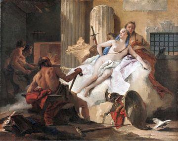 Giambattista Tiepolo, Venus und Vulkan - 1765 von Atelier Liesjes