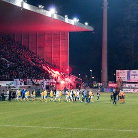 RWDM - Union Saint-Gilloise im Edmond-Machtens-Stadion von Martijn Mureau