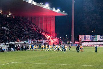 RWDM - Union Saint-Gilloise in het Edmond Machtens Stadion van Martijn Mureau