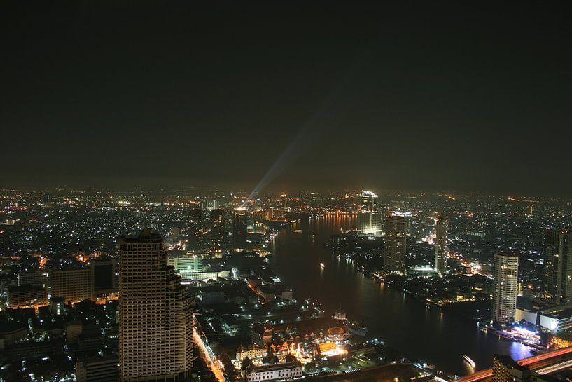 Skyline Bangkok van Levent Weber