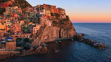 Manarola, Cinque Terre, Italie sur Henk Meijer Photography