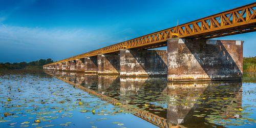 De Moerputtenbrug als panorama van