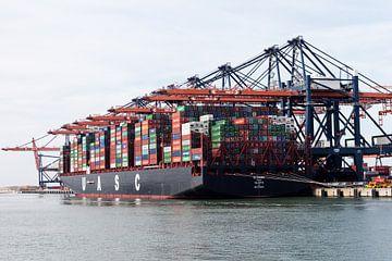 Containerschip Rotterdam van