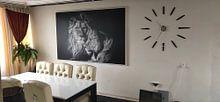 Kundenfoto: Lion von Ron van Zoomeren, auf leinwand