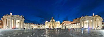 Sint Pietersplein in Rome van Rainer Pickhard