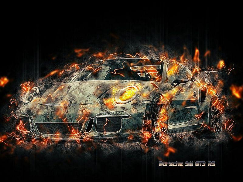 Porsche von Printed Artings