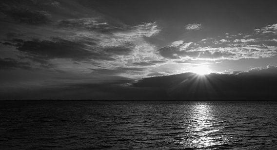 Sunset over Zeeland