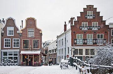 Geertebrug Utrecht in de sneeuw van MattScape Photography