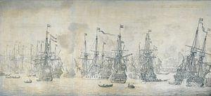 Mislukte Engelse aanval op de VOC vloot