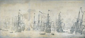 Mislukte Engelse aanval op de VOC vloot  van