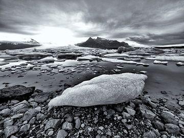 Gletschersee von René Piersma