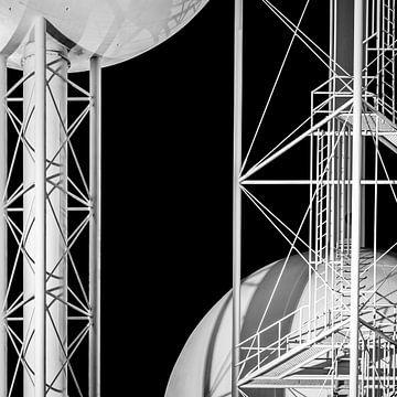 Watertoren in Eindhoven (3) von Joren Hoogeboom